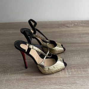 Louboutin - Stunning Slingback - New Condition